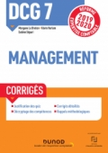 DCG 7 Management - Corrigés