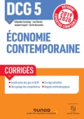 DCG 5 Economie contemporaine - Corrigés