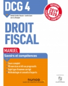 DCG 4 Droit fiscal - Manuel - Réforme 2019/2020