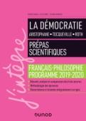 La Démocratie - Prépas scientifiques - Programme français-philosophie 2019-2020