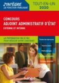 Concours Adjoint administratif d'Etat - 2020 - Externe et interne