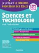 Sciences et technologie - Oral, admission - CRPE 2020-2021