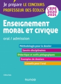 Enseignement moral et civique - Oral, admission - CRPE 2020-2021