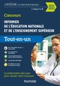 Concours Infirmier de l'éducation nationale et de l'enseignement supérieur - Tout-en-un - 2020-2021