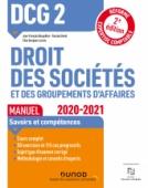 DCG 2 Droit des sociétés et des groupements d'affaires - Manuel - 2020/2021