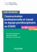 Aide-mémoire - Communication professionnelle et travail en équipe pluridisciplinaire en ASMS
