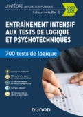 Entraînement intensif aux tests de logique et psychotechniques - 2020-2021