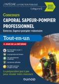 Concours Caporal sapeur-pompier professionnel 2021/2022