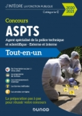 Concours agent spécialisé de la police technique et scientifique ASPTS - 2020-2021