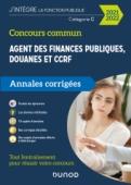 Concours Commun Agent des Finances Publiques Douanes et CCRF Catégorie C