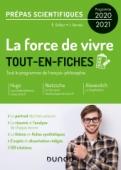 La force de vivre - Prépas scientifiques Programme 2020-2021