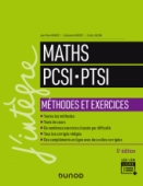 Maths PCSI-PTSI - Méthodes et exercices