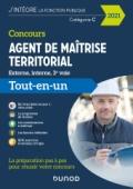 Concours Agent de maîtrise territorial 2021