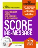 Score IAE-Message - 2021-2022