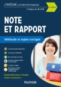 Note et Rapport - Méthode et Sujets corrigés