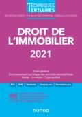 Droit de l'immobilier 2021