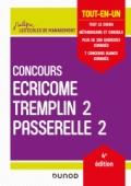 Concours Écricome Tremplin 2 et Passerelle 2