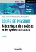 Mécanique des solides et des systèmes des solides