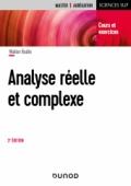 Analyse réelle et complexe