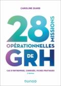 28 missions opérationnelles de GRH