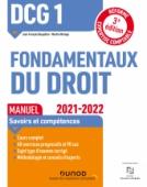 DCG 1 Fondamentaux du droit - Manuel - 2021/2022