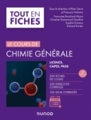 Chimie générale - Tout le cours en fiches