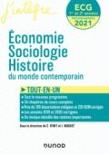 ECG 1 ET 2  - 2021-2022 - Economie, Sociologie, Histoire du monde contemporain