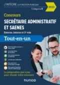 Concours Secrétaire administratif et SAENES - 2022