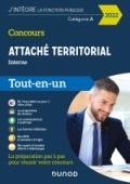 Concours Attaché territorial Interne et 3e voie 2022