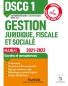 DSCG 1 Gestion juridique, fiscale et sociale - Manuel 2021/2022