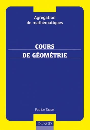 Agrégation interne de mathématiques - Cours de géométrie