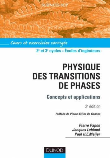 Physique des transitions de phase