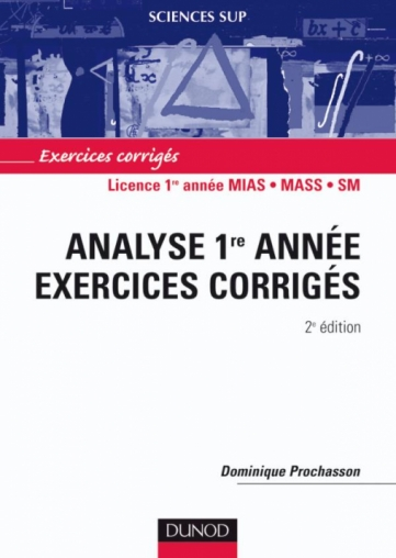 Analyse 1re année