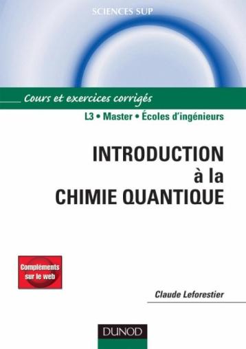 Introduction à la chimie quantique