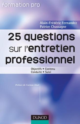 25 questions sur l'entretien professionnel