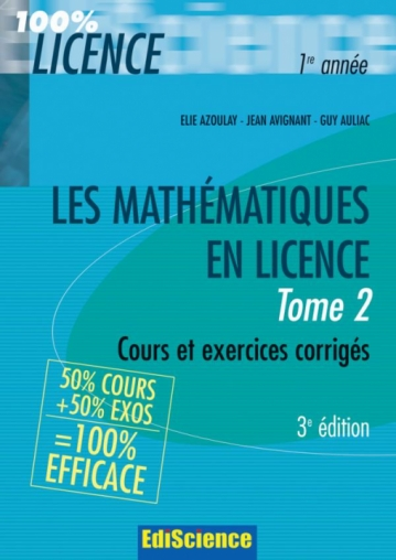 Les mathématiques en Licence - Tome 2
