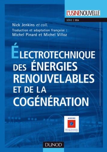 Électrotechnique des énergies renouvelables et de la cogénération