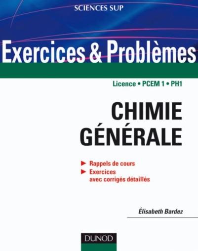 livre chimie générale ouahes pdf