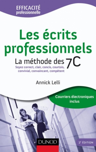 Les écrits professionnels : la méthode des 7C