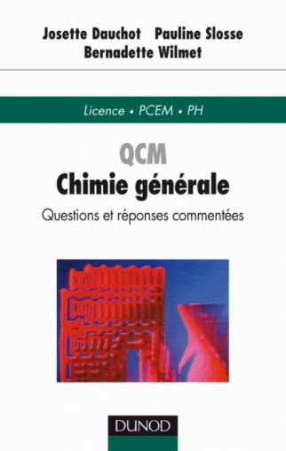 QCM de chimie générale - Questions et réponses commentées