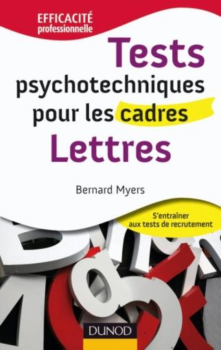 Tests psychotechniques pour les cadres- Lettres