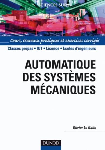 Automatique des systèmes mécaniques