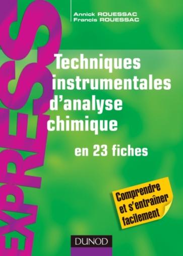 Techniques instrumentales d'analyse chimique
