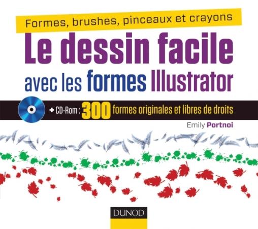 Le Dessin Facile Avec Les Formes Illustrator Livre