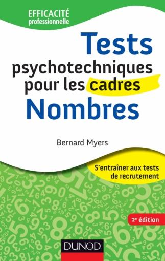 Tests psychotechniques pour les cadres - Nombres