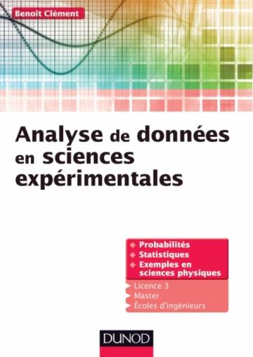 Analyse de données en sciences expérimentales