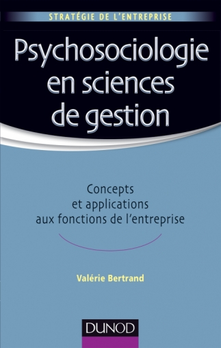 Psychosociologie en sciences de gestion