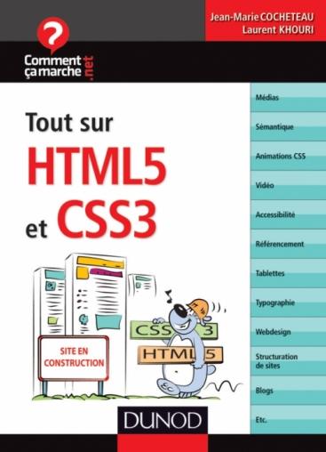 Tout sur HTML5 et CSS3