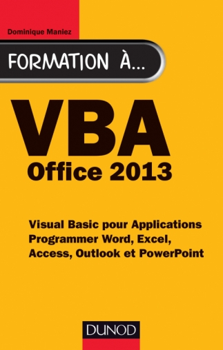 Formation à VBA Office 2013