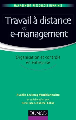 Travail à distance et e-management